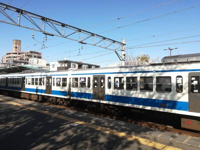 西武多摩川線多磨駅