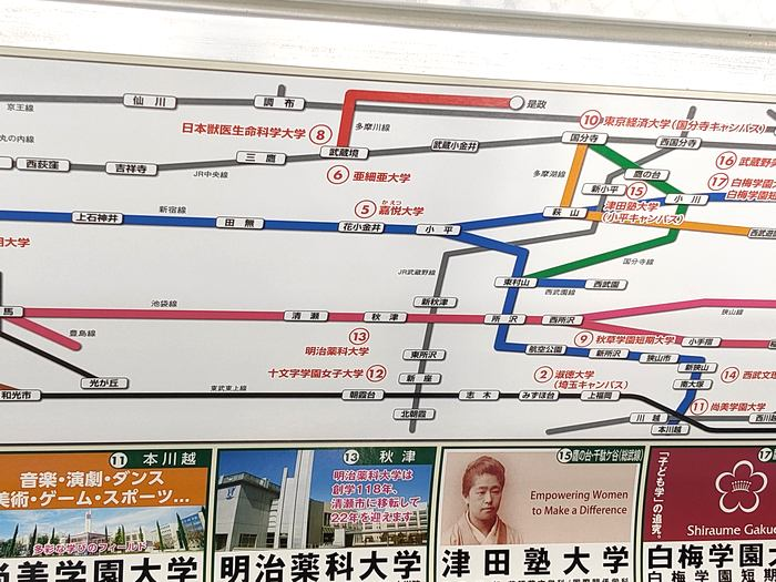多摩川線広告3